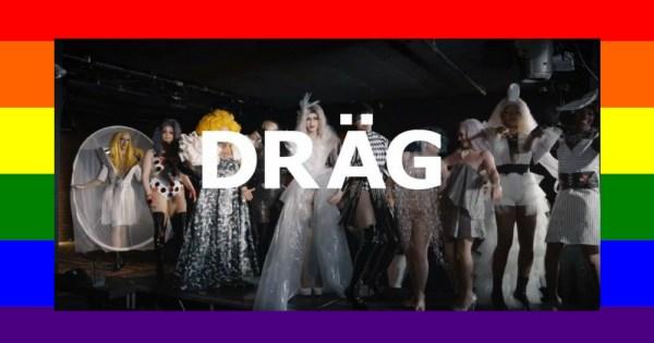 Drag queen serving their best IKEA drag looks