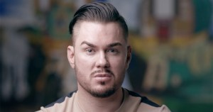 A still image of Johnny Maughan from the Pavee Point video