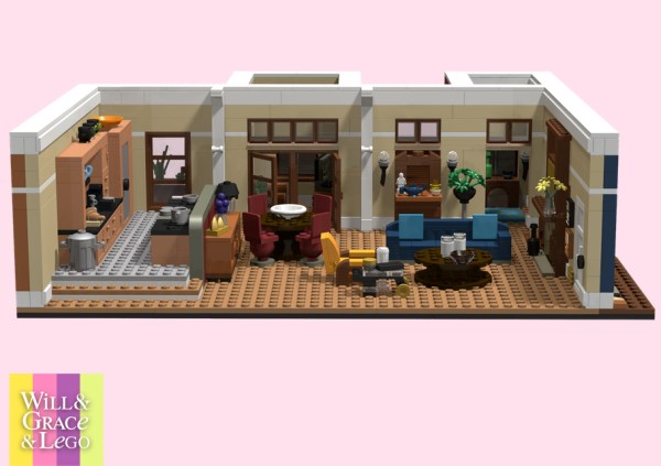 concept photo of Will & Grace LEGO set