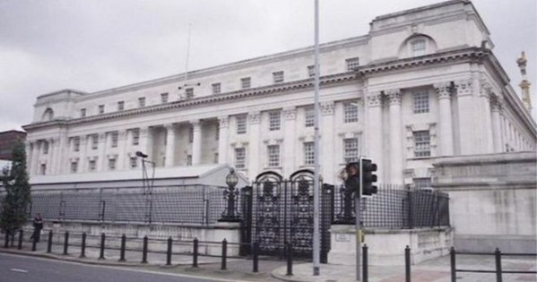 The High Court in Belfast, where a Belfast man was refused bail after being charged with sexual abuse.