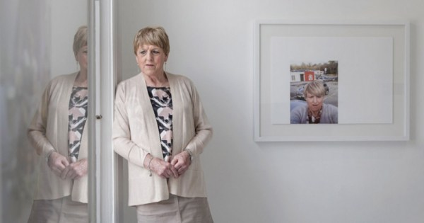 Christine Beynon, the subject of an exhibition charting her transition at the RHA