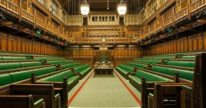 Image of Parliament where Theresa May was urged to extend equal rights to Northern Ireland.