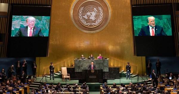 Trump addresses UN