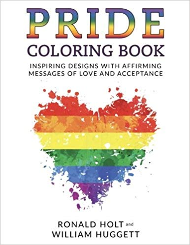 pride colouring book