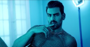 Deaf model Nyle DiMarco in his sign language cover video of Ariana Grande's '7 Rings'.