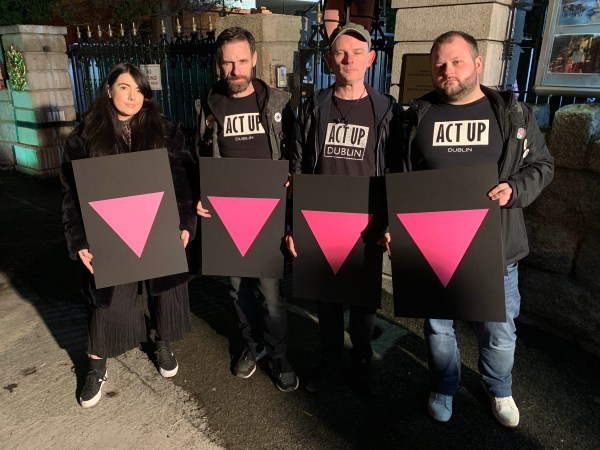 ACT UP Dublin in solidarity with Chechnya