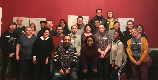 The LGBT+ asylum seekers learning exchange group