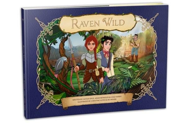 Raven Wild storybook