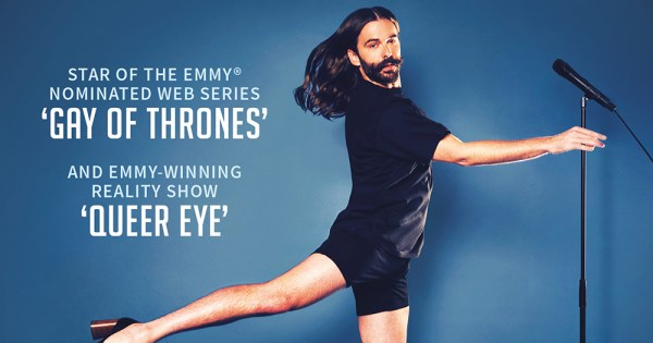 Jonathan Van Ness Announces New Date For Dublin Stand-Up Show