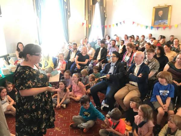 Crowds at last year's 'Different Families, Same Love' competition awards