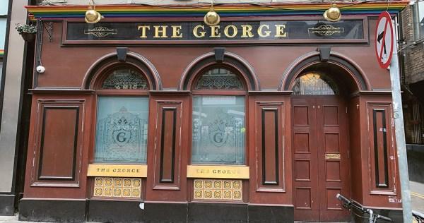 The exterior of Bridie's Bat by The George nightclub