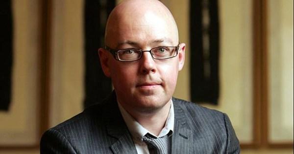 Irish author John Boyne