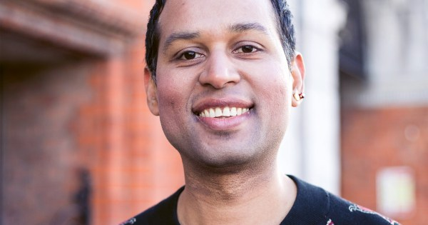 Preet, of members of the LGBT+ asylum seekers support group 'Identity'