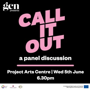 Poster for the upcoming event Call It Out A Queer Perspective