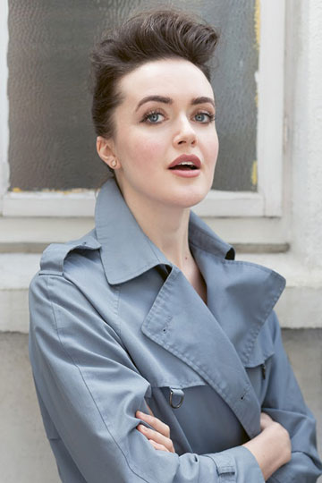 Actress and activist Aoibhéann McCann speaks about slow fashion