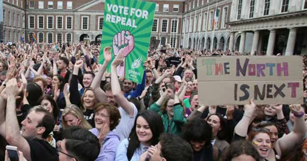 BREAKING: 'Histroic day' for Northern Ireland as abortion ban lifted and equal marriage made law