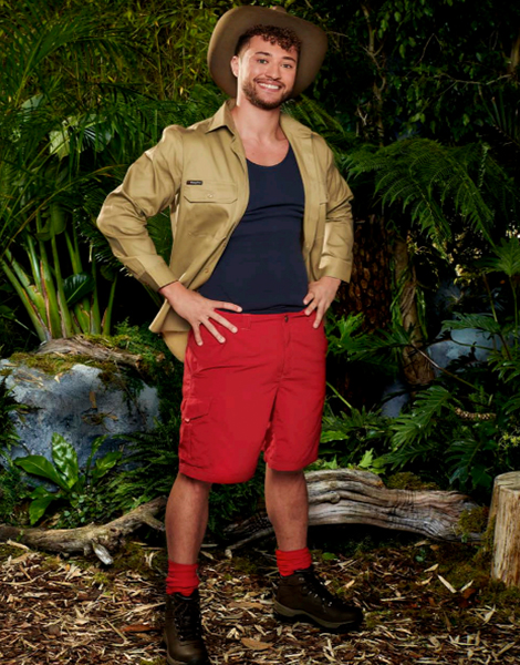 """Myles Stephenson appearing on ITV's """"I'm A Celebrity... Get Me Out Of Here!"""""""