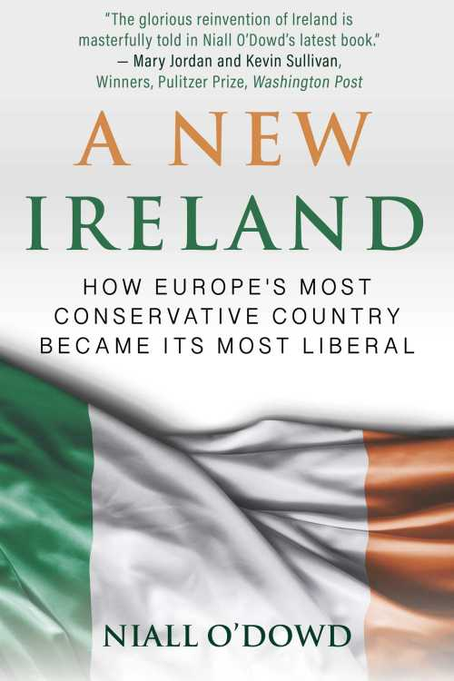 Cover of A New Ireland book which explores the murder of Declan Flynn