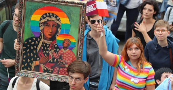 Polish LGBT+ activists fighting for their rights