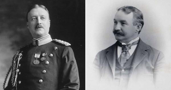 Titanic passengers Major Archibald Willingham Butt and Francis Millet