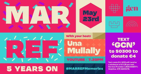 poster for Mar Ref 5 Years On event