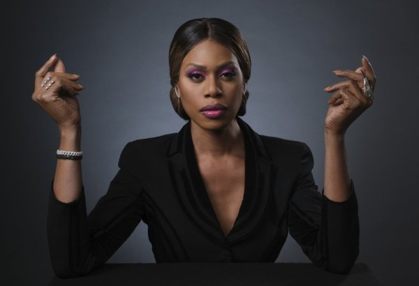actress Laverne Cox, trans people in show business
