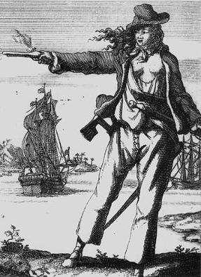 the pirate Anne Bonney
