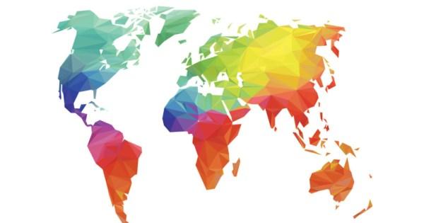 rainbow world map, rainbow railroad helps LGBTQ+