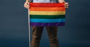 holding a pride flag, Galway Winter Pride hope
