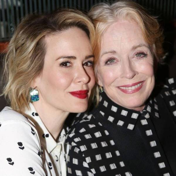 sarah paulson and holland taylor, power couples in show business