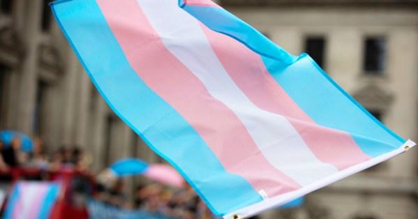 Belfast ruling gender recognition: Trans flag