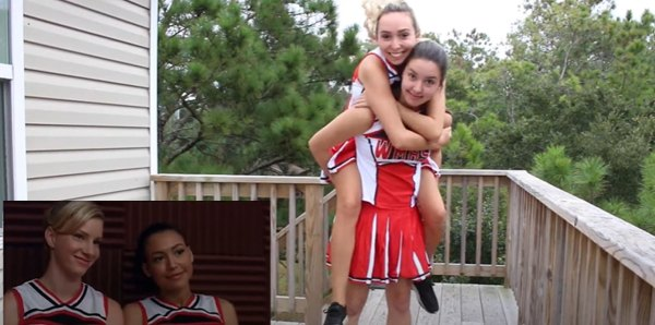Couples' costumes ideas: Brittany and Santana