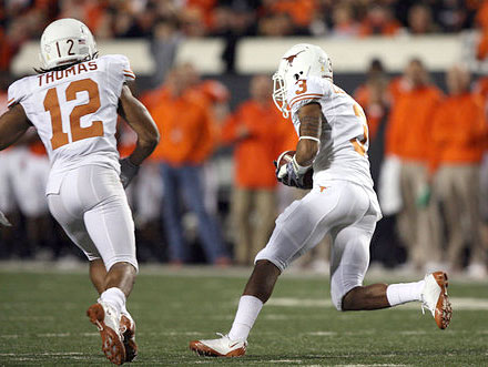 Eagles Workout 2nd Tier Texas Cornerback Curtis Brown