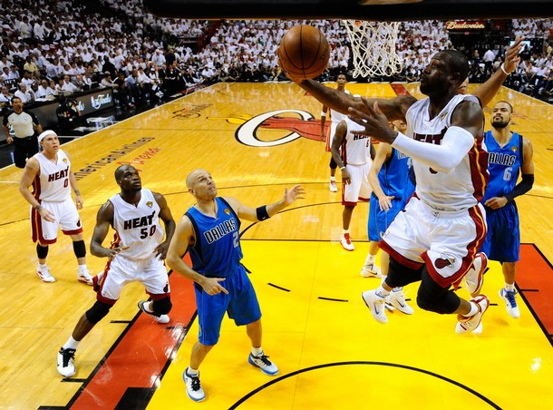 It's LeBron James And Dwyane Wade To The Rescue Again, Heat 92-84