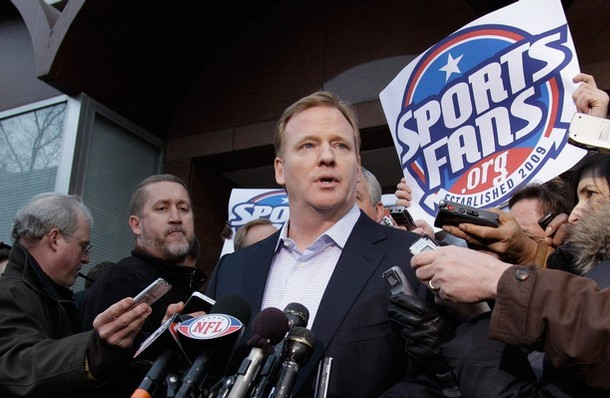 """NFL Player:   """"As for Goodell, he needs to drop his nuts"""""""