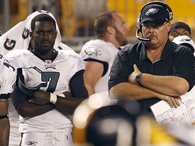 Michael Vick & Eagles Are Awful In Steelers 24-14 Victory