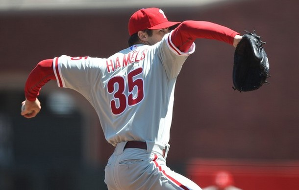 Hamels Solid In Return, Victorino's Homer Lifts Phillies
