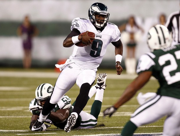 Vince Young Has MRI And Eagles Release Nine Players