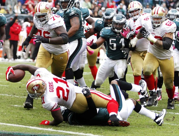 Eagles Lose A 23-3 Second Half Lead And Fall To The Niners 24-23