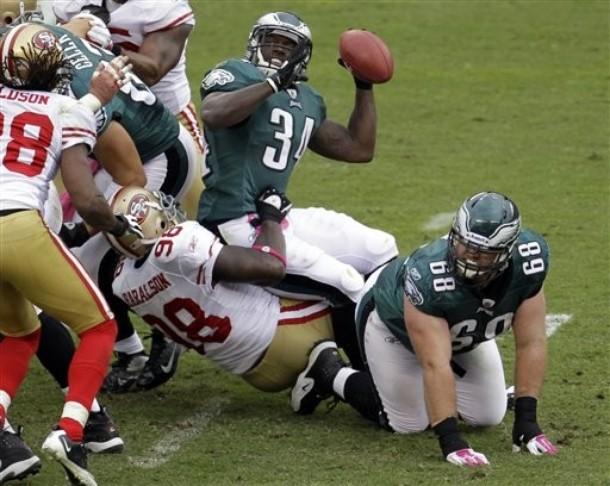 The Eagles Must Get Bigger On Goalline And Short Yardage