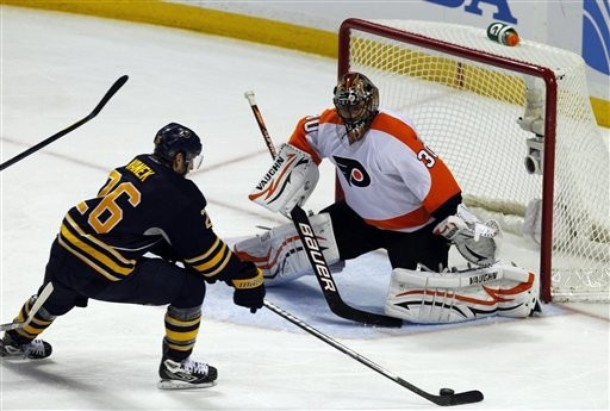 Flyers Do The Right Thing And Remove Muzzle From Bryzgalov