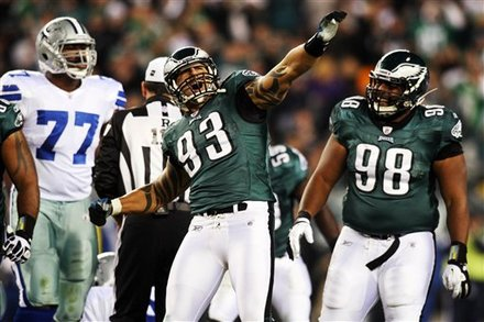 Defensive Line Set The Stage For Eagles Victory