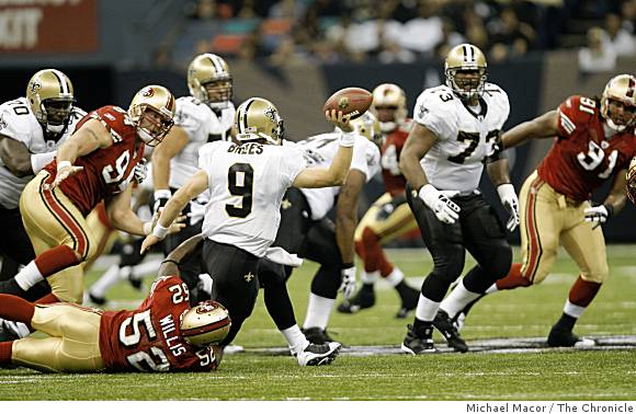 Close Up On Niners-Saints Game And The Pick