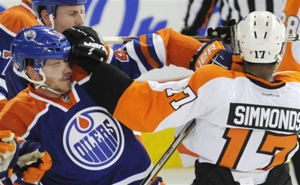 Simmonds And Hartnell Are Keys To Flyers Power Play
