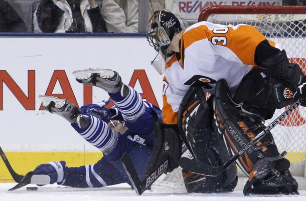 Shutout Streak Continues as Bryzgalov, Flyers Shut Down Maple Leafs
