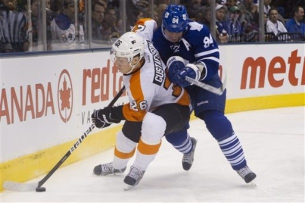 Flyers' Gustafsson Signs with KHL Team