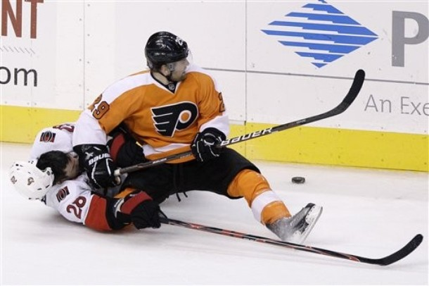 Flyers Recall Harry Zolnierczyk as they Prepare for Devils