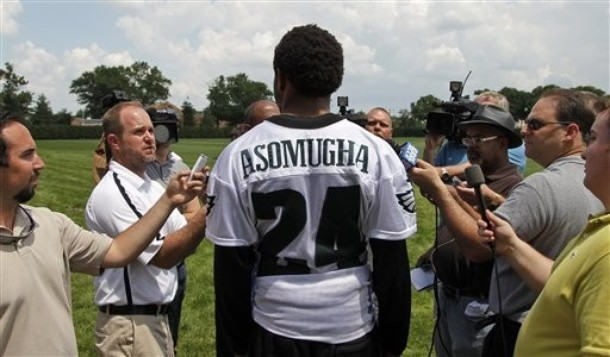 Nnamdi Asomugha Thinks Wide Receiver Is The Easiest Position In The NFL