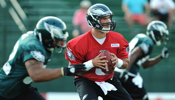 Eagles' QB Mike Kafka Taking Snaps And Ready To Go
