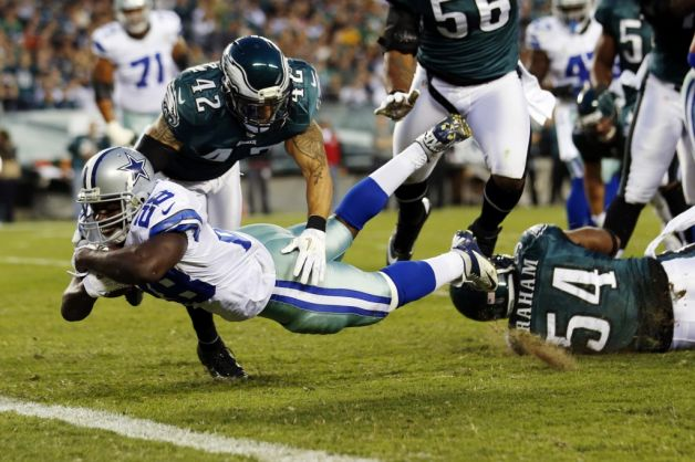 Dallas Touchdown Exposed Members Of Eagles Defense